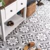Blore Black Ceramic Floor Tiles