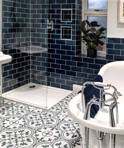 Blore Ceramic Floor Tiles bathroom