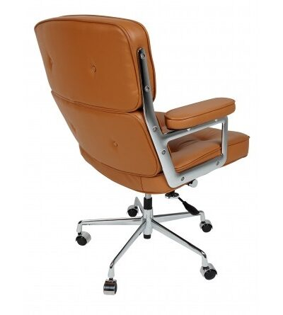 Eames Style ES104 Tan Leather Chair