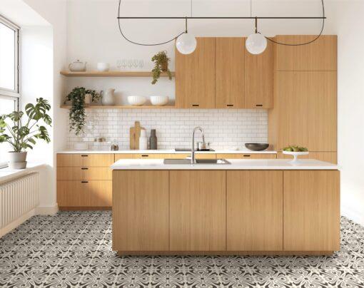 Kitchen floor Havana Night Tiles