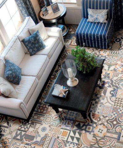 Porcelain tiles Maroc - lounge