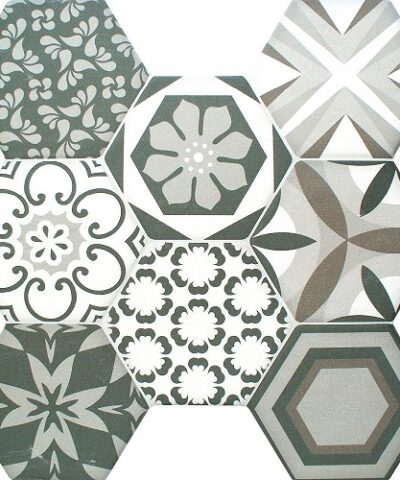 Porcelain tiles Octet mixed choice