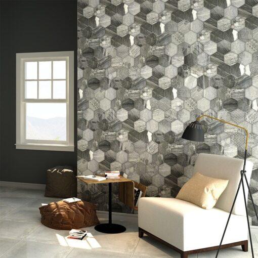 Stone Porcelain tiles Octet
