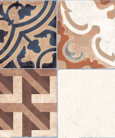 Brown ceramic floor tiles Ribera