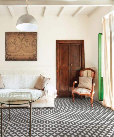 Ronda black ceramic tiles