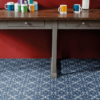 Blue sheet vinyl flooring Ruskin
