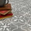 Grey sheet vinyl flooring Ruskin