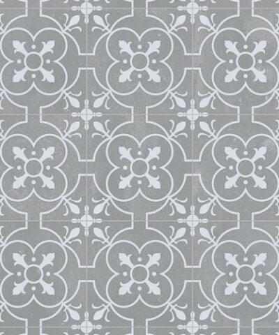 Grey sheet vinyl flooring Ruskin detail
