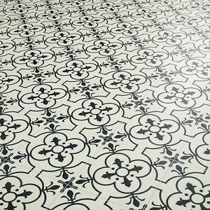 White sheet vinyl flooring Ruskin details