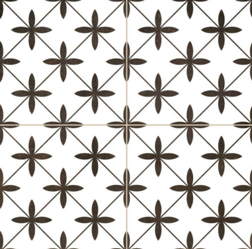 Compass White Ceramic Tiles