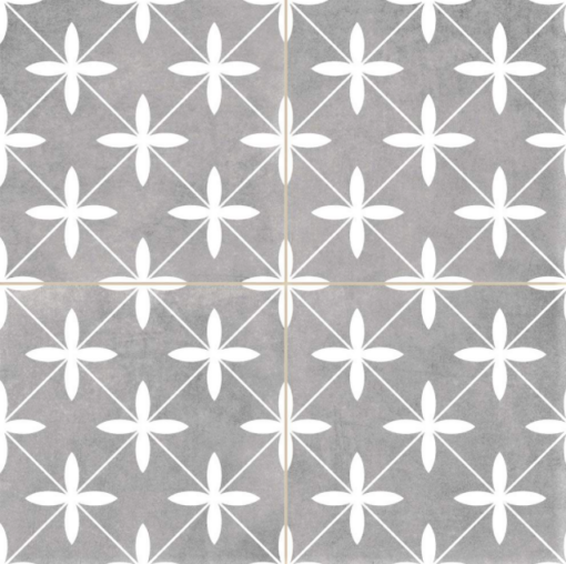 Compass Grey Ceramic Tile