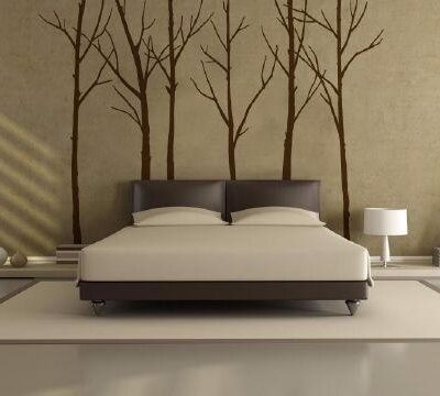 Winter Trees Wall Stickers adhesive