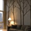 Brown Winter Wall Stickers UK