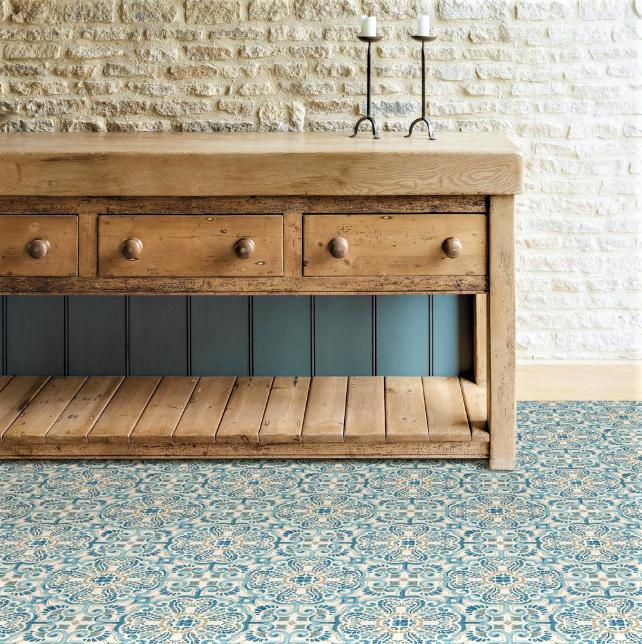 Fontaine Vinyl Floor Tiles