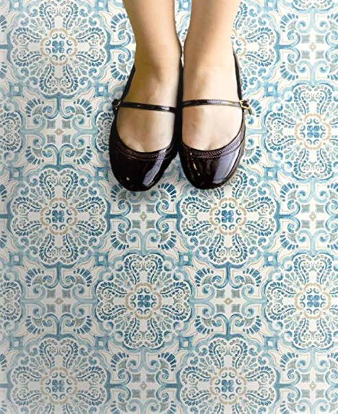 Fontaine Vinyl Floor Tiles