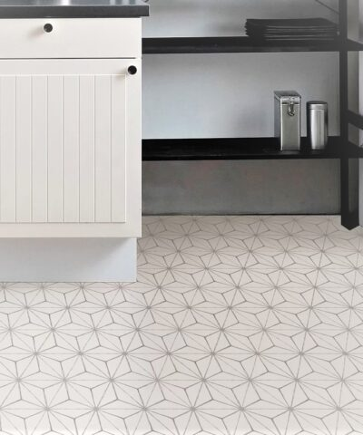Kikko Vinyl Floor Tiles kitchen