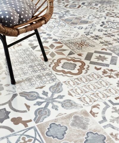Raval small vinyl floor tiles