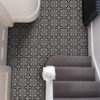 Gothic vinyl floor tiles Victorian House