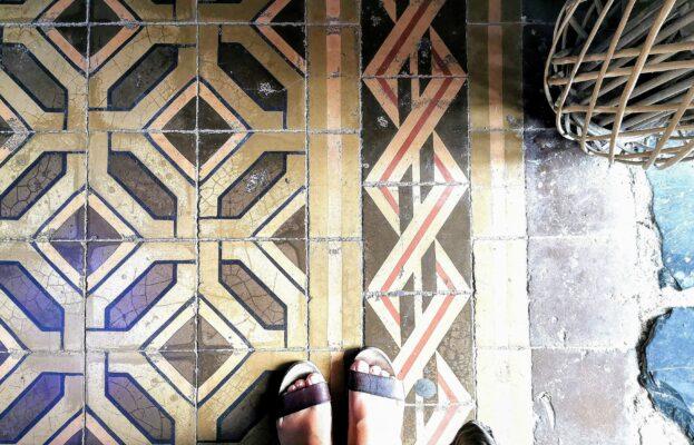 Vintgae Floor Tiles