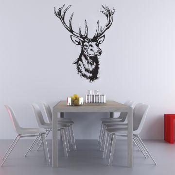 Kitsch Wall Sticker Black