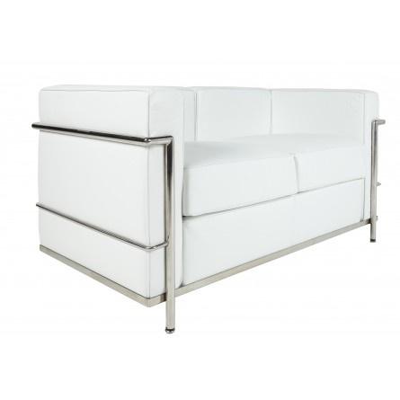 Le Corbusier LC2 2 seater white