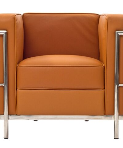 Le Corbusier LC2 Armchair in tan