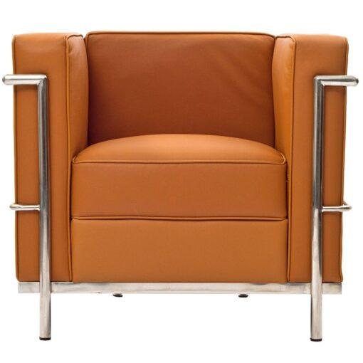 Le Corbusier LC2 Armchair in tan