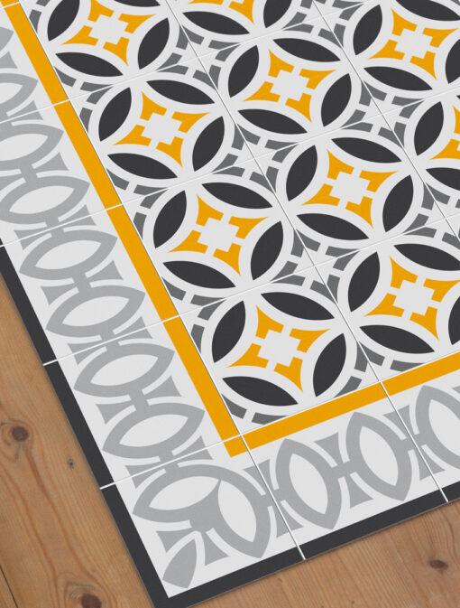 Vinyl Floor Rugs detail Letamendi