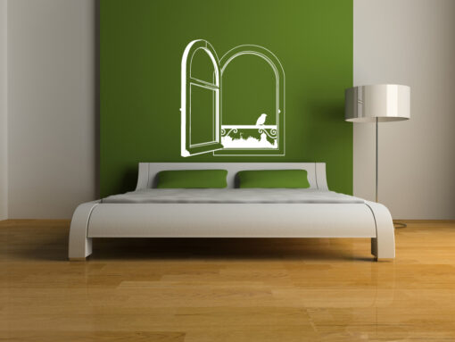 Open Window Wall Sticker