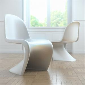 Panton chairs white