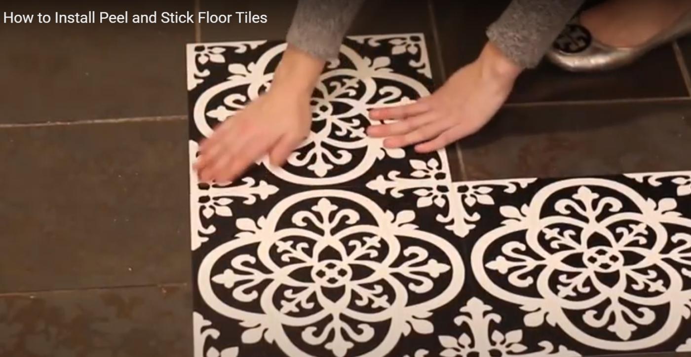 Gothic Vinyl Floor Tiles