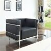 Le Corbusier LC2 Armchair in Black