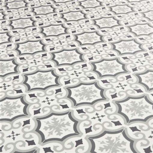 Cuenca Grey Sheet Vinyl Flooring