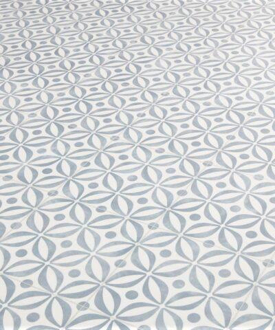 Emilia Cobalt Sheet Vinyl Flooring