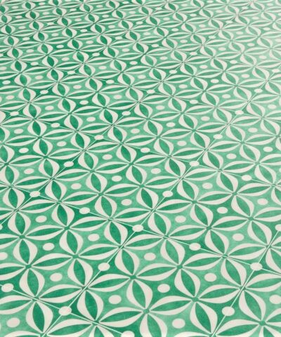 Emilia Green Sheet Vinyl Flooring