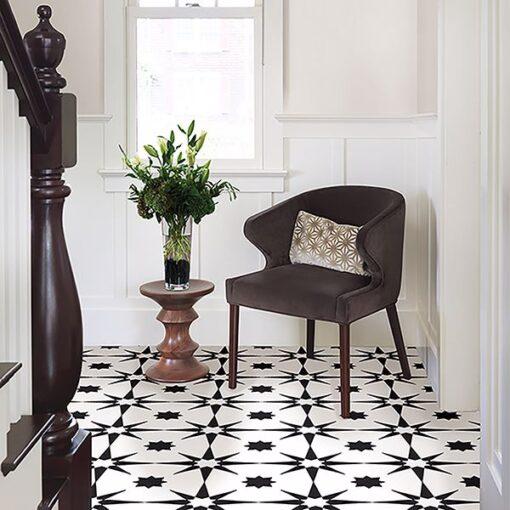 Altair Vinyl Floor Tiles hall floor