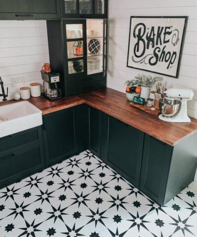 Altair floor tiles kitchen