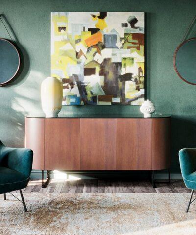 Austin Armchair Evergreen