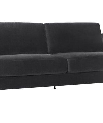 Edie 3 Seater Sofa Dark Grey