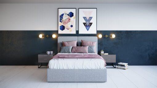 Rachel King Size Bed